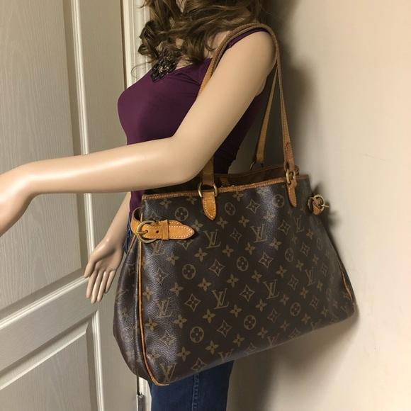 8981717712b37 Louis Vuitton Handbags - Auth Louis Vuitton Monogram Batignolles Horizontal